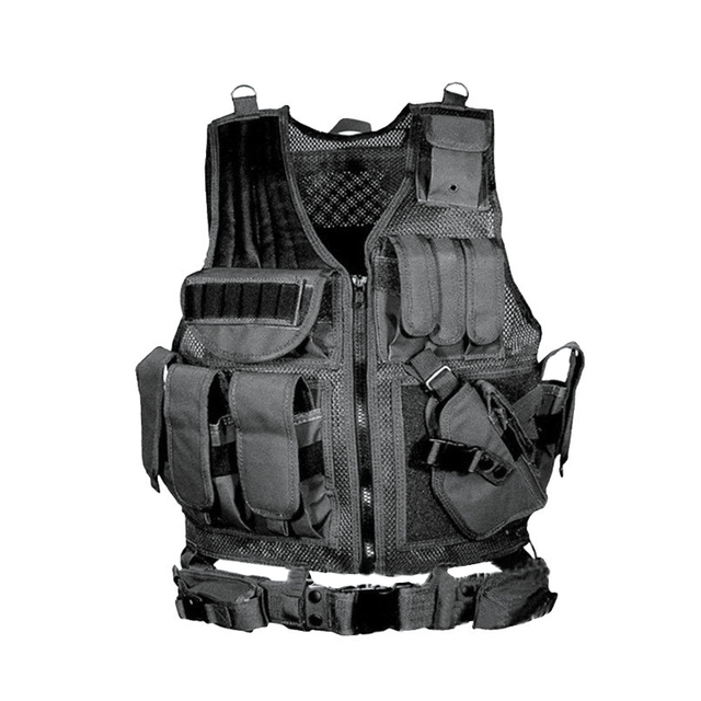 Army Tactical Equipment Military Molle Vest Hunting Armor Vest Airsoft Gear Paintball Combat Protective Vest For CS Wargame 8 1