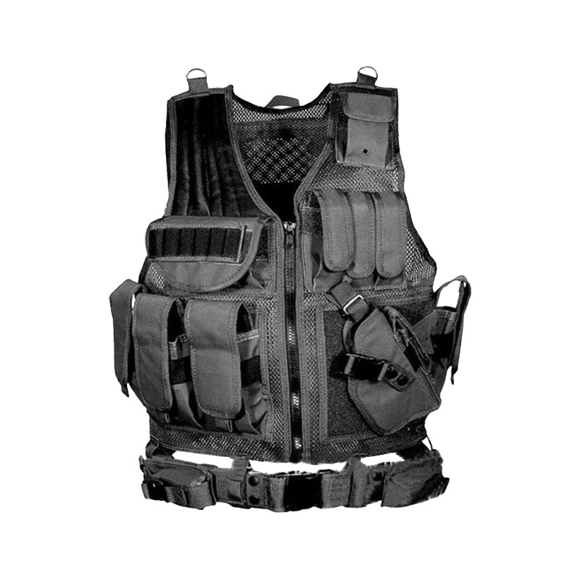 Army Tactical Equipment Military Molle Vest Hunting Armor Vest Airsoft Gear Paintball Combat Protective Vest For CS Wargame 8