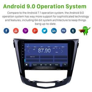 Image 2 - Seicane Radio Multimedia con GPS para coche, Radio con reproductor, Android 9,1, cuatro núcleos, 10,1 pulgadas, navegación, para Nissan QashQai x trail 2013 2014 2015 2016