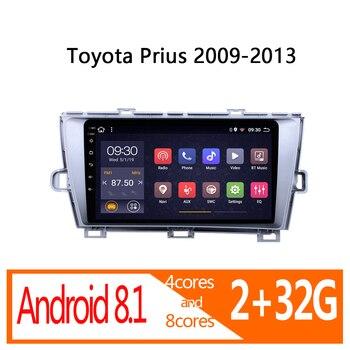 Gar-radio multimedia con GPS para coche, radio con navegador, Android, 2 gb...