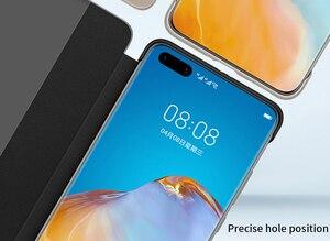 Image 4 - Original Huawei HUAWEI P40/P40 Pro/P40 Pro+ P40 Pro Plus Smart View Cover Leather Protection Auto Sleep Wake Flip case