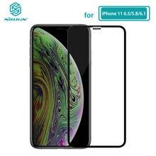 آيفون 11 الزجاج Nillkin XD CP ماكس شاشة واقية حامي الزجاج المقسى آيفون 11 iPhone11 برو ماكس (5.8/6.1/6.5)
