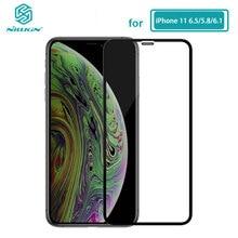 עבור iPhone 11 זכוכית Nillkin XD CP + מקס מגן מסך מגן זכוכית מחוסמת עבור iPhone 11 iPhone11 פרו מקסימום (5.8/6.1/6.5)