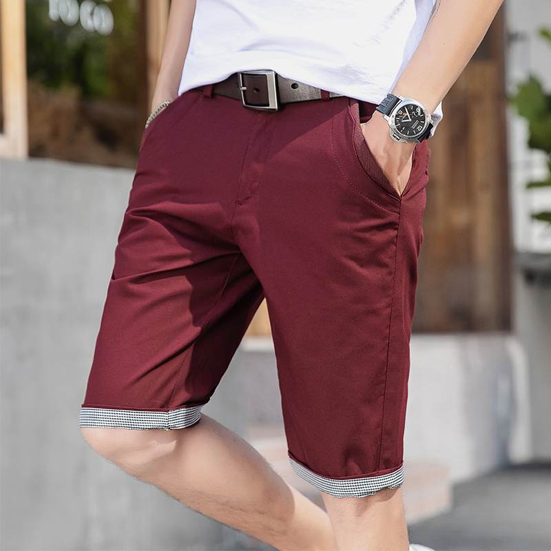 Woodvoice Brand Mens Casual Shorts Summer Fashion Cotton Shorts Bermuda Masculina Shorts Joggers Trousers Shorts Male Plus Size