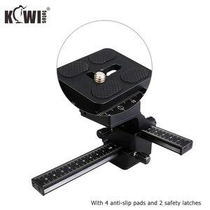Image 2 - Kiwi Macro Focusing Rail Slider for Canon EOS 5D Mark IV III 6D Mark II 90D 80D 70D Nikon D750 D780 D850 Z7 Z6 Z5 Z50 Sony Fuji