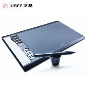 Image 2 - UGEE M708 8192 רמות גרפי ציור לוח דיגיטלי לוח חתימת כרית ציור עט לכתיבה ציור פרו מעצב wacom