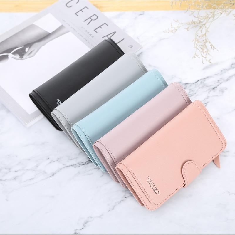 New Ladies Short Casual Zipper Buckle Small Card Bag Super Soft Leather Pocket Small Handbag, Wallet, Card Bag Purse Fashion