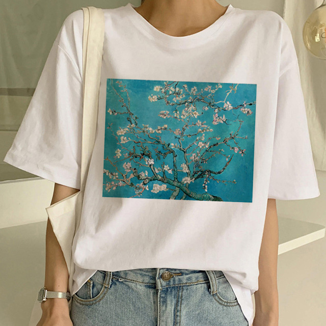 TJCJFO  Aesthetic T-shirt Cartoon Printing Harajuku Short-sleeved Tops & Tees Fashion Casual Women's Large Size Tshirt Femme