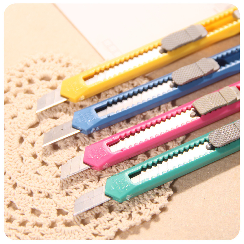 Students Country Culture Office Supplies Small Cute Safe Knife Paper Cutting Knife Paper Cutter Manufacturers Direct Selling