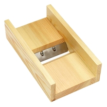 Wooden Adjustable Loaf Soap Cutter Wood Box Cutting and Beveler Planer Tool For Handmade Soap Making nicole soaps beveler planer wood box for handmade soap making tools