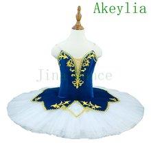 Бордовая Золотая профессиональная балетная пачка для девочек