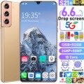 S21+ Global Version SmartPhone 6.6 Inch Ultra 12GB RAM 512GB ROM 24MP + 50MP 10 Core MTK 6889 Dual SIM 4G LTE 5G Cell Phones