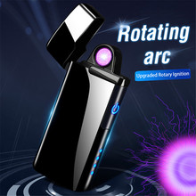 2020 Rotata Plasma Arc Lighter USB Electric Cigarette Lighter Rechargeable Windproof Electronic Coil