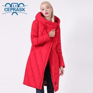 Image 3 - 2020 New Winter Coat Women Plus Size Long Windproof Collar Women Parka Stylish Hooded Thick Womens Jacket CEPRASK