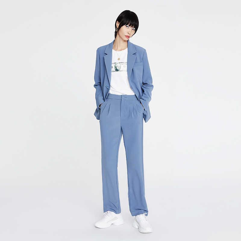 Toyouth Delle Donne Abbigliamento Da Lavoro Singolo Petto Giacche Solido di Modo Lungo Manica della Giacca Sportiva OL di Stile Outwear Cappotto