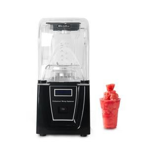 ITOP 1.5L Профессиональный Мощный Миксер для блендера, коммерческий Bpa Бесплатный ледяной смузи, блендер, соковыжималка, Кухонный комбайн с 2 до...