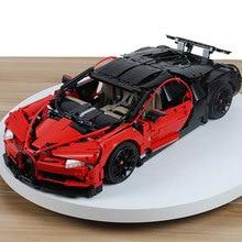 3625 pcs LegoED Bugatti Chiron 42083 Super Racing Car Building Blocks Technic Mechanical Bricks Construction Toys For Adults dhl lepin technic 20086b red technic legoings 42083 chiron racing car building blocks bricks kids toy model christmas gift