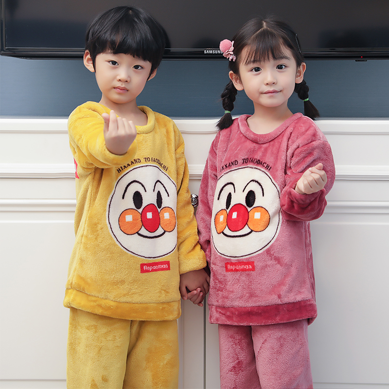 Children Autumn Kids Set Top Pajamas Girl Boy Pajama Toddler Clothes Sleepwear