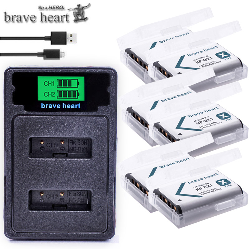 NP BX1 Bateria NP-BX1 Battery+ Type-c LED Charger For Sony DSC RX1 RX100 AS100V M3 M2 HX300 HX400 HX50 HX60 GWP88 AS15 WX350