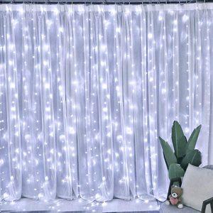 Image 5 - 2x2/3x3 Led Icicle Led Curtain Fairy String Light Fairy Light Led Christmas Light Garland For Wedding Home Window Party Decor