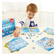 лучшая цена Magnetic Sudoku Children's Initial Chess Game Digital Desktop Logical Thinking Parent-Child Intelligence Toys party match games