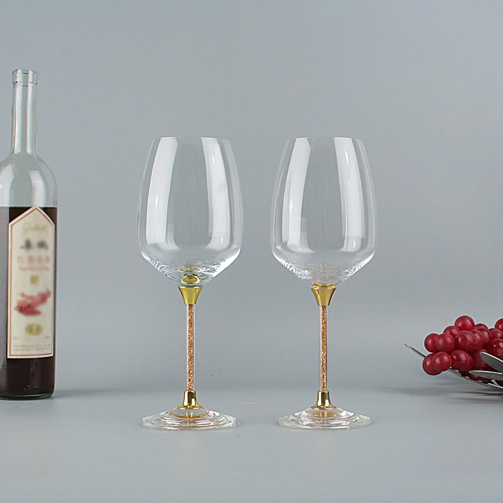 Trendy Household Decoration Christmas Cristal Cups Beautiful Wedding Wine Glasses Creative Crystal Christmas Gift Wine Glass Wine Glasses Aliexpress