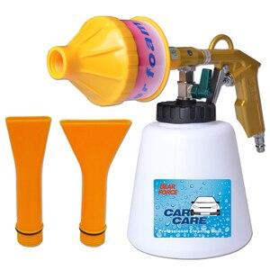 Image 2 - Schaum Pistole Auto Schaum Waschen Reinigung Gun Schnee Foam Lance Air Kompressor Espuma Werkzeug für Tornado Schaum Generator Auto Detaillierung werkzeug