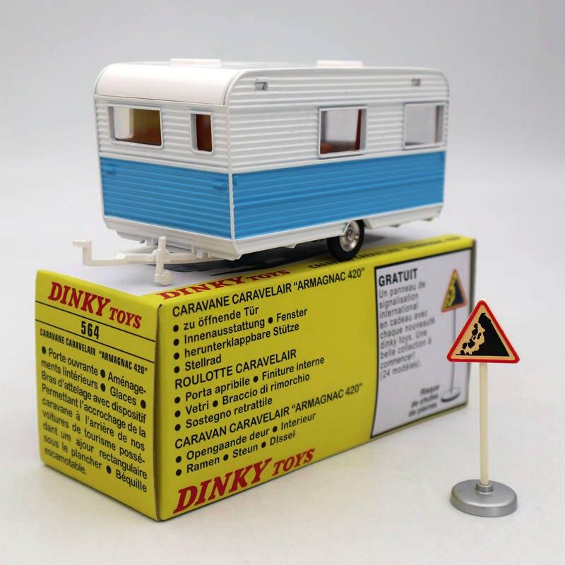 Atlas 1/43 Dinky Toys 564 CARAVANE CARAVELAIR
