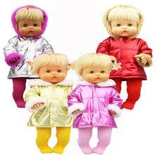 Novo terno colorido caber 42 cm nenuco boneca nenuco y su hermanita boneca acessórios