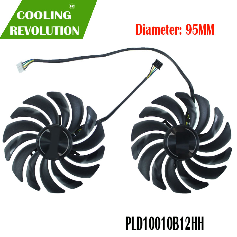 Brand new original authentic graphics card fan PLD10010B12HH DC12V 0.40A for MSI GeForce RTX 2070 ARMOR 8G OC