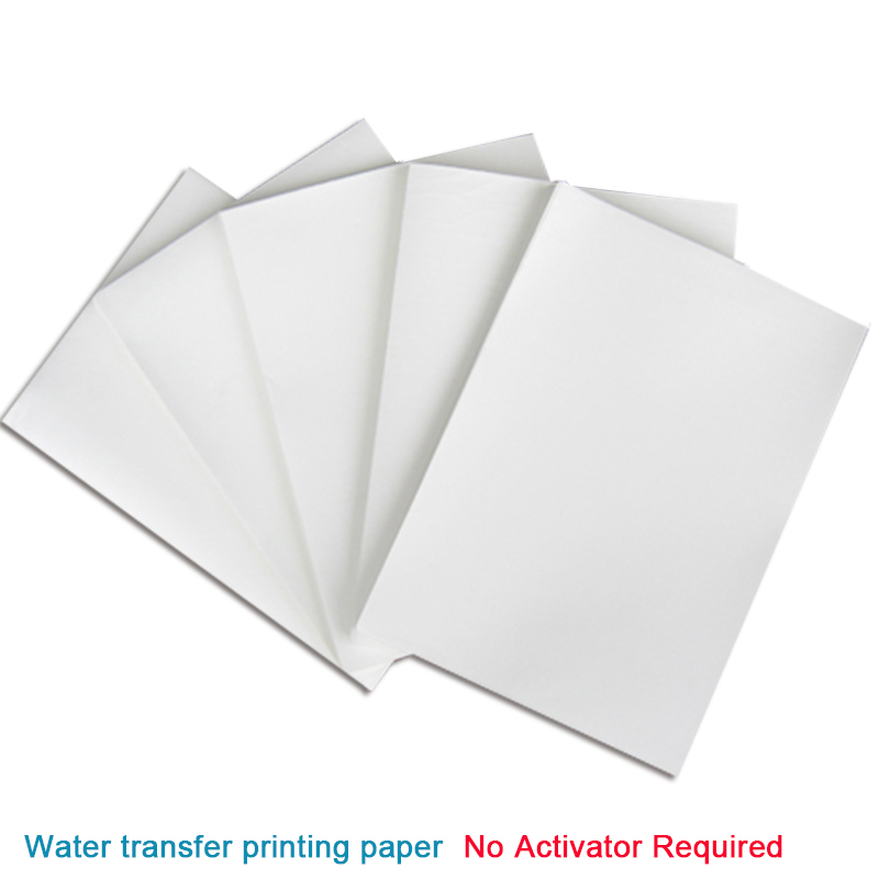 A4 size clear//transparent color water transfer inkjet printing paper 20PCS