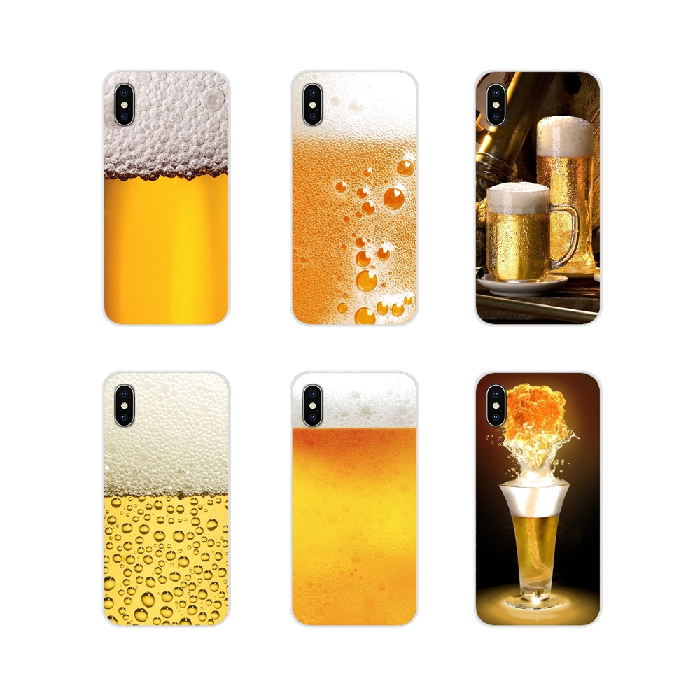 <font><b>Silicone</b></font> Phone Cover Bag <font><b>Summer</b></font> Beer Bubble Bottle For <font><b>Huawei</b></font> Nova 2 3 2i 3i <font><b>Y6</b></font> Y7 Y9 Prime Pro GR3 GR5 2017 <font><b>2018</b></font> 2019 Y5II Y6II image