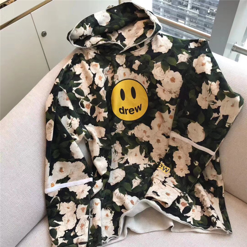 Camouflage Justin Bieber Drew House Hoodie Men Women high-quality Streetwear Drew House Pullovers