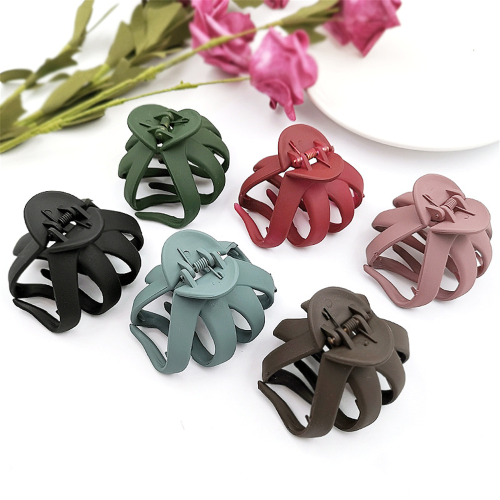 New Arrival Large Size Fish Shape Hair Clips Ponytail Holder For Women Girls Banana Clips Crabs Claws Hair Styling Accessories