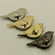 Twist-Locks Purse Hardware Handbag-Bag Bag-Parts-Accessories Closure Metal Clasp Bird-Shaped