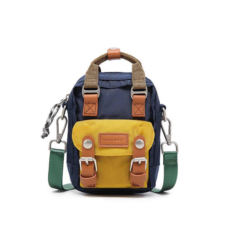 Nowy plecak podróżny wodoodporne nylonowe plecaki o dużej pojemności kobiece Mini plecak damskie torby szkolne dla nastoletnich dziewcząt
