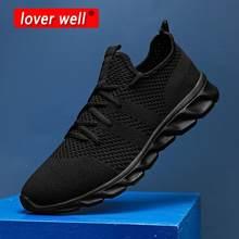 Для мужчин кроссовки летние сетчатые спортивная обувь на шнуровке; Удобная обувь из облегченного материала; Прогулочная обувь, пропускающа...
