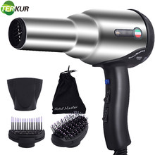 Blow Dryer with Diffuser Ionic Hair Dryer Extended lifespan AC Motor 2 Speed and 3 Heat Settings Cool Shut Button Fast Drying EU