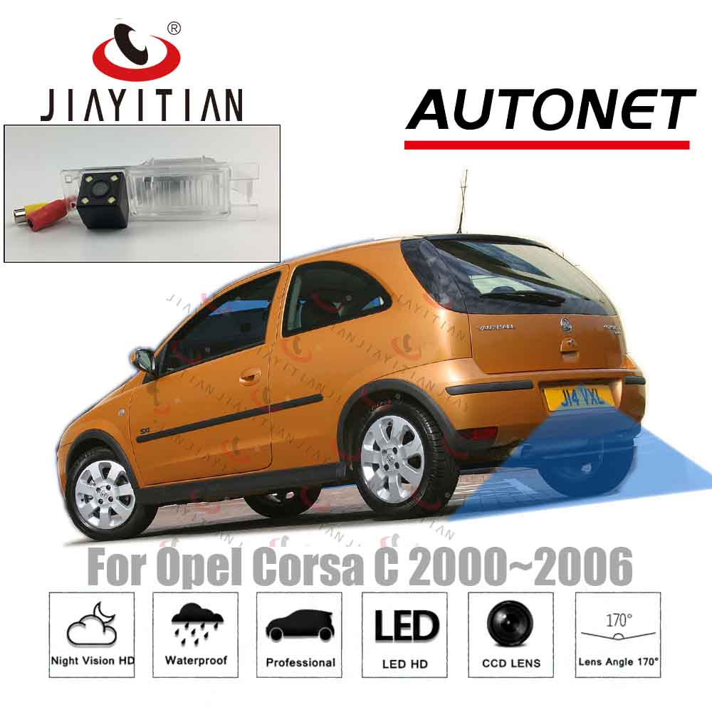 JIAYITIAN Rear View Camera For Opel Corsa C 2000 2001 2002 2003 2004 2005 2006/CCD/Night Vision/Backup Reverse Camera Parking