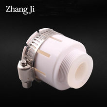 Zhangji torneira led bico bubbler mangueira switcher prevenção de vazamento parafuso de borracha de plástico calibre ajustável 15-22mm torneira adaptador