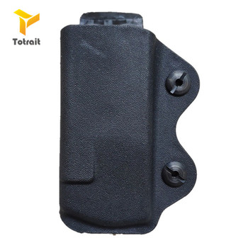 Tactical Mag Fondina 9 millimetri Carrier KYDEX Fondina Rivista Pistola di Caso Adatto A Glock 17 19 26 23 27 31 32 33 Pistol Magazine Pouch