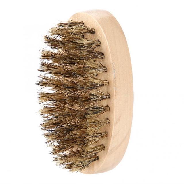 Men's Beard Brush with Soft Bristles