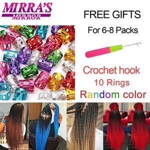 Image 5 - MirraS Mirror Pre Stretched Braiding Hair Ez Braid Hair Synthetic Crochet Braiding Hair Extensions