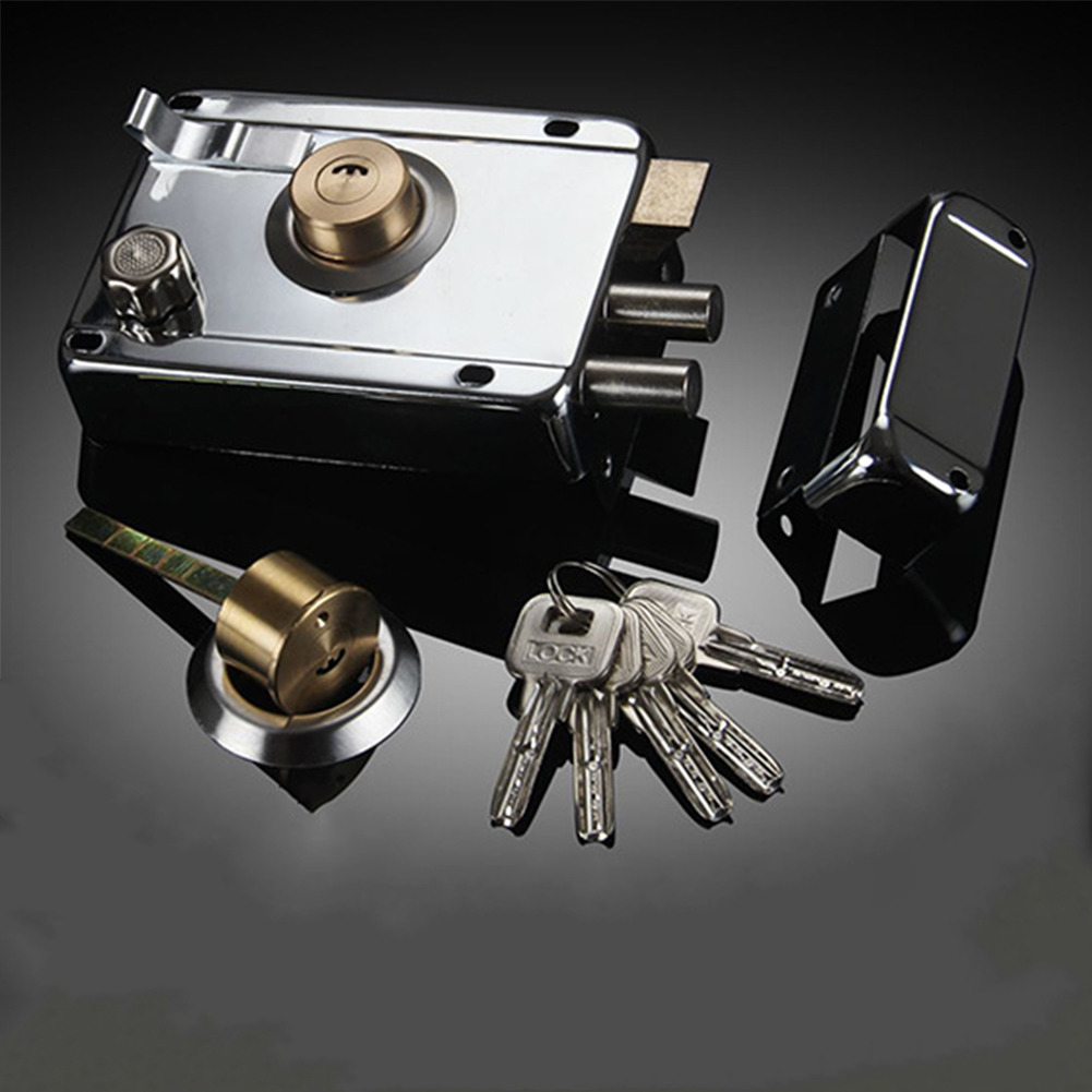 Multiple Insurance Deadbolt Accessory Door Lock Exterior Smooth Anti-theft Stainless Steel Home Security Universal Heavy Duty