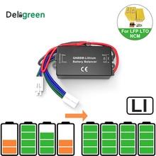Equalizador de bateria qnbbm 1s, pilha de lítio unisex, lifepo4, li ion, 18650diy, equilibrador de bateria bms lifepo4/polímero, lto pacote sem led