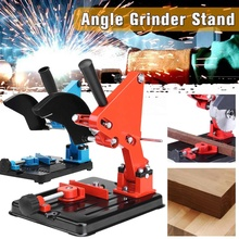 Angle Grinder Stand Bracket Holder Support For 100-125 Degree Cutter Angle Grinder Iron Base Wood Working Power Tool Accessories