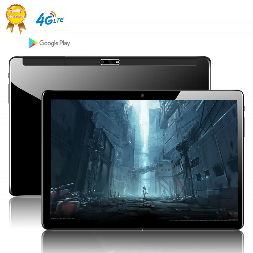 MTK6797 Global Version 10 Inch 2.5D Glass Tablet PC 10 Deca  Core 8GB RAM 128GB ROM Android 9.0 WiFi 3G 4G LTE IPS Tablet Holder