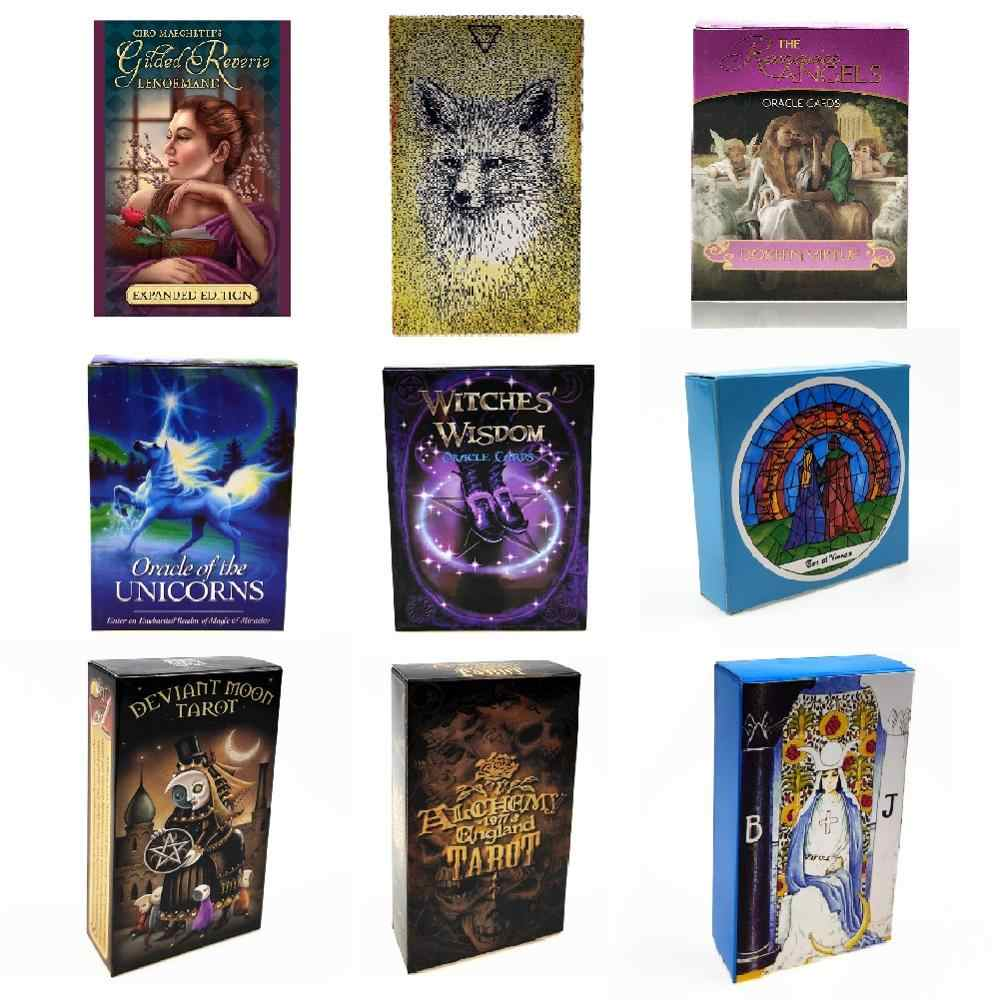 Cartes de Tarot de guidage Oracle Lenormand Oracle, cartes de guidage du destin de Divination, jeu de société pour fête familiale