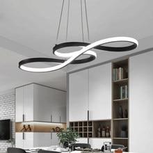 Lampe Led suspendue au design minimaliste moderne, Luminaire décoratif d'intérieur, Luminaire décoratif d'intérieur, idéal pour une salle à manger ou un Bar