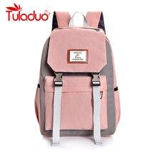 купить Multifunction Women Backpack Girls Shoulder Bag High Quality Canvas Laptop Backpack Schoolbag for Teenager Girls Boys Travel дешево